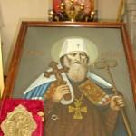 Принесение иконы с частицей мощей святителя Иоанна Тобольского в п. Ачаирский