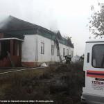 Пожар в храме Архистратига Михаила с. Усть-Заостровка